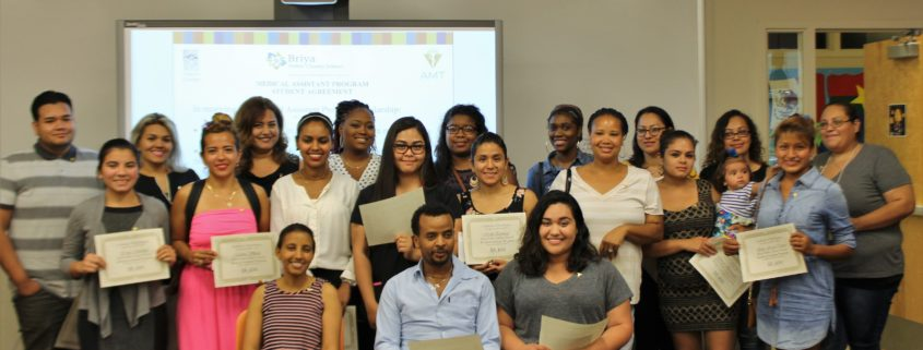 Fourth class of students enters Medical Assistant Program