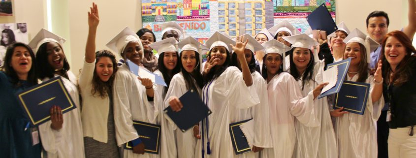 Medical Assistant graduates with Briya teachers