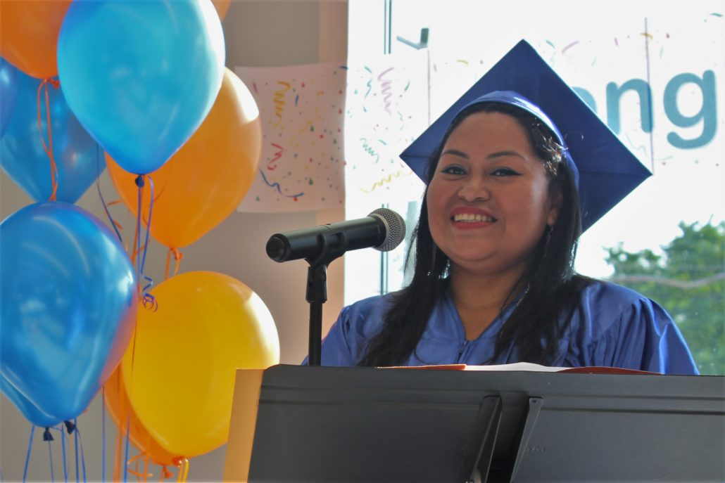 Alba Hernandez, 2017 NEDP graduate